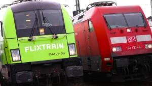 Auch Bahn-Wettbewerber wollen von Geld aus Klimapaket profitieren