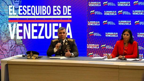 Warum Venezuela fremdes Gebiet beansprucht