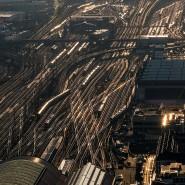 An Spitzentagen fahren im Frankfurter Hauptbahnhof mehr als 1000 Züge ein und aus.