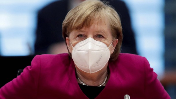 Merkel spricht sich für kurzen, einheitlichen Lockdown aus