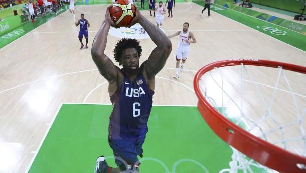 Basketball als amerikanischer Kraftsport