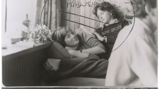 A teenage Diana Spencer - just days before announcing her engagement to Prince Charles -  is pictured in this handout copy photo