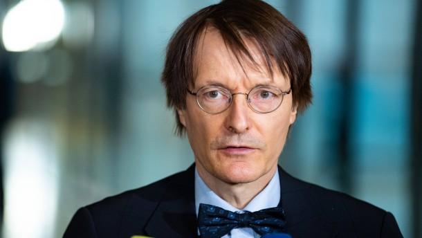 Lauterbach weist Kritik an Feinstaubgrenzwerten zurück