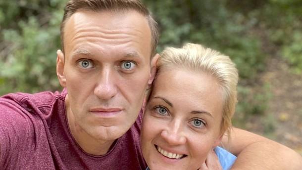 Nawalnyj will vorerst in Deutschland bleiben
