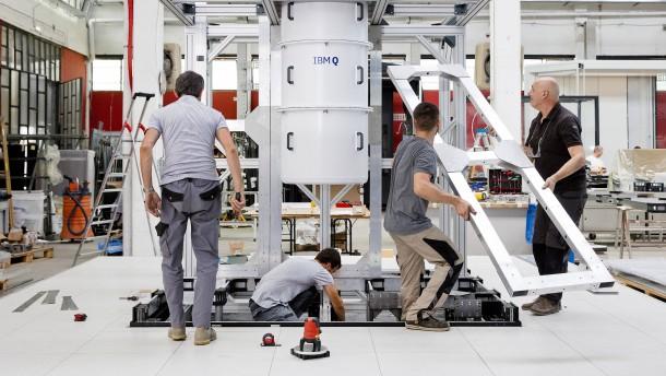 IBM bringt Quantencomputer nach Deutschland