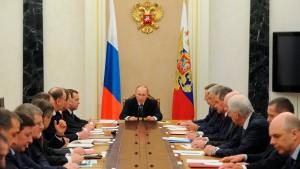 Russland bereitet sich auf die Isolation vor