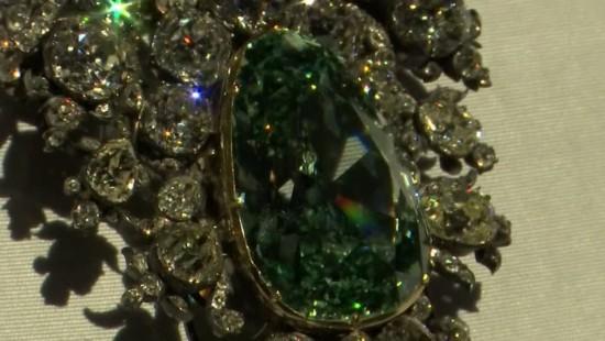 Grüner Diamant aus Dresden entgeht Einbruch