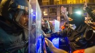 Den sechsten Tag in Folge kam es zu Demonstrationen in Barcelona. Die Nacht blieb vergleichsweise ruhig.