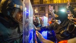 Ruhigere Nacht in Barcelona nach Gewalteskalation am Vortag