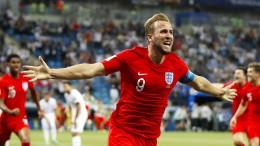 Die britischen Fans lieben Harry Kane