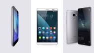 Drei Smartphones von Huawei im Vergleich