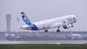 Airbus erwägt Ultralangstreckenversion von Erfolgsmodell A321