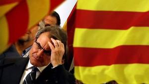 Kataloniens Wähler stärken Separatisten