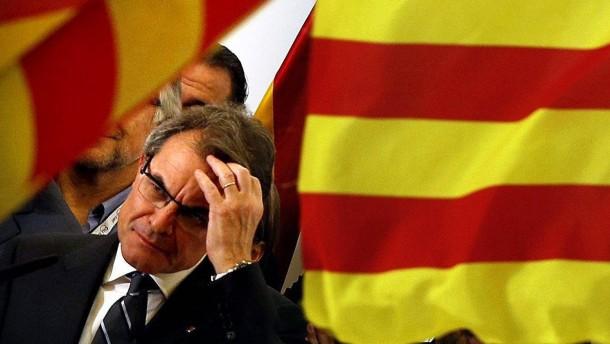 Ministerpräsident Artur Mas
