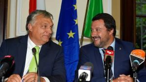 Polnisch-ungarisch-italienische Achse