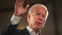 Der ehemalige Vizepräsident Joe Biden hat das Wort