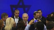 Der israelische Ministerpräsident Benjamin Netanjahu am Dienstag in Tel Aviv
