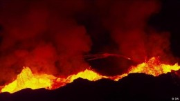 Zwischen Vorsicht und Lava