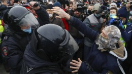 Pro-Nawalnyi-Proteste gehen in Moskau weiter