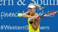 Die 29 Jahre alte Angelique Kerber unterlag der Russin Ekaterina Makarowa am Mittwochabend 4:6, 6:1, 6:7 (11:13).