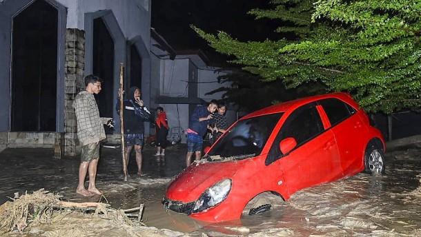 Mindestens 21 Tote nach Überschwemmungen