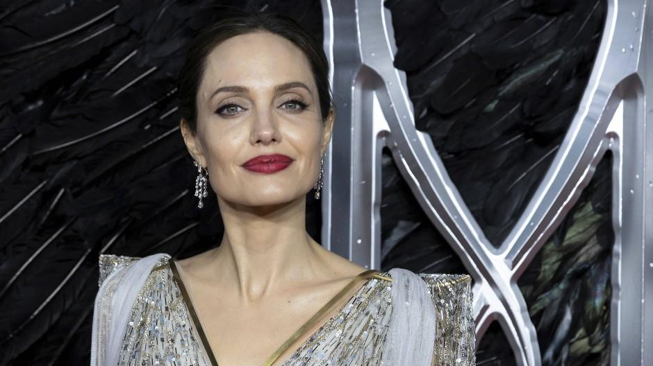 Inzwischen sicher wieder geduscht: Angelina Jolie