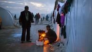 Flüchtlinge fürchten den Winter