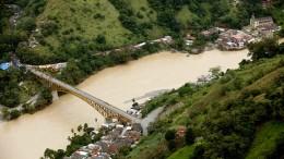 Angst vor den Fluten in Kolumbien