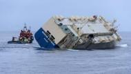 Havariertes Frachtschiff unter Kontrolle
