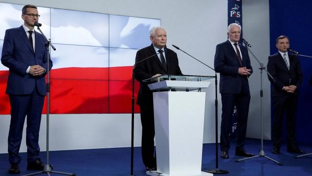Nationalkonservative Koalition in Polen geplatzt