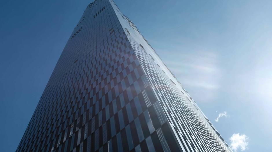 Ein Neubau mit Luxusappartements mitten in Manhattan