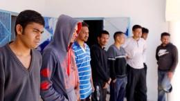 Migranten aus Mittelmeer geborgen