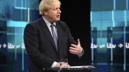 """Johnson verspricht Briten ein """"verfrühtes Weihnachtsgeschenk"""""""