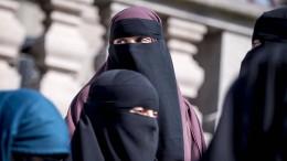 Erstmals Geldstrafe wegen Niqab-Tragens verhängt