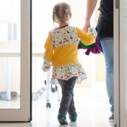 Wer kümmert sich ums Kind? Die Betreuung zu organisieren, war während des Lockdowns oft Frauensache.