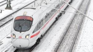 Bei der Bahn droht wieder Winter-Chaos