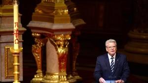 """""""Das türkische Volk wird Präsident Gauck nicht verzeihen"""""""