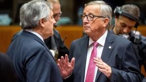 EU-Parlamentspräsident erzürnt über Italien-Äußerungen