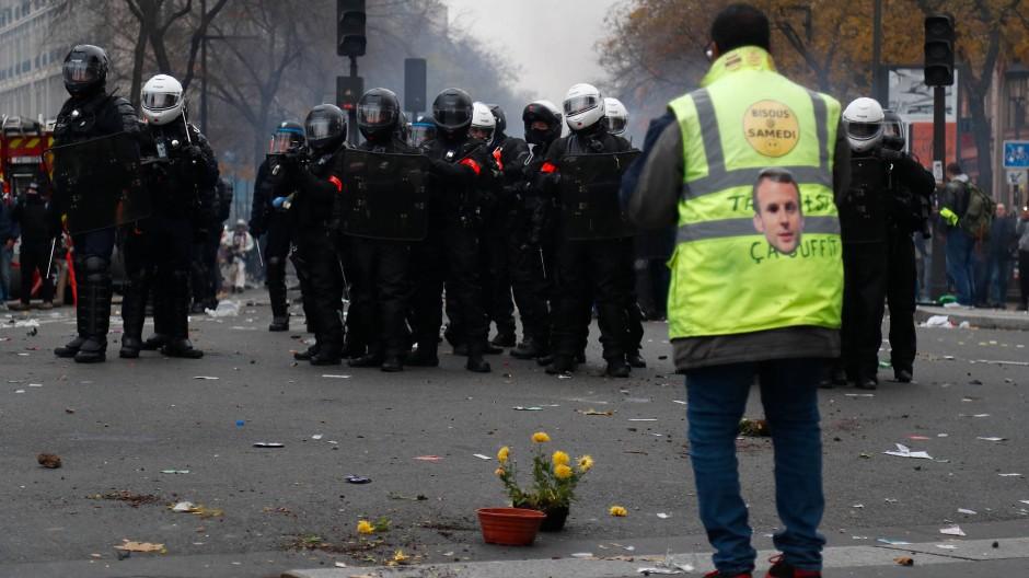 In Frankreich wird auch am Wochenende wieder protestiert