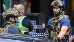 Zwei Tote bei mutmaßlichem Terrorangriff in Melbourne