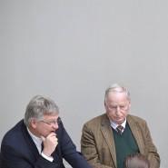 Den Abbau des Sozialstaates als Entschlackung getarnt: Jörg Meuthen, Alexander Gauland und Björn Höcke im Oktober 2019 in Berlin