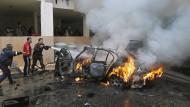Autobombe verletzt Mitglied der Hamas