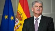 Der spanische Außenminister Alfonso Dastis (Archiv).