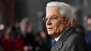 Italiens Präsident schließt Neuwahl im Juni aus