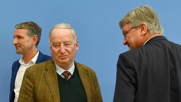 AfD sinkt auf niedrigsten Wert seit der Bundestagswahl