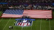Die Sängerin Pink singt im Februar beim Football-Finale die amerikanische Nationalhymne.