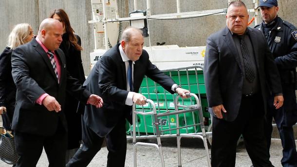 Weinsteins Kaution wird verfünffacht
