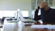 Psychischer Stress ist eine der häufigsten Ursachen der Berufsunfähigkeit.