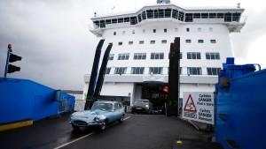Briten buchen Notfall-Fähren