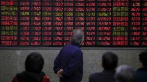 Gefahr für die Börsen in China und der Welt